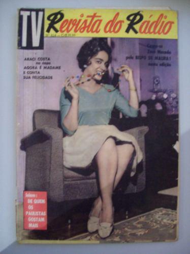 Revista Do Rádio 1961 - Vedete Iracema Vitória, Araci Costa