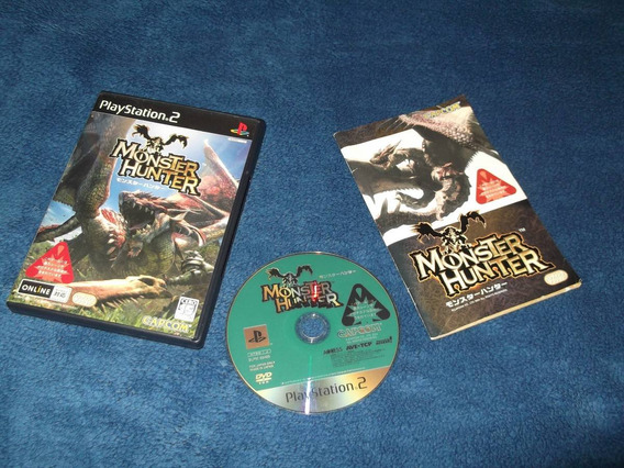 Ps2 - Monster Hunter (japonês)