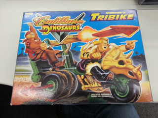 Cadillac And Dinosaurs Hammer´s Tribike - Tyco Lacrado !!
