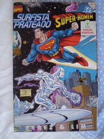 Surfista Prateado Super-homem! Editora Abril Set 1997!