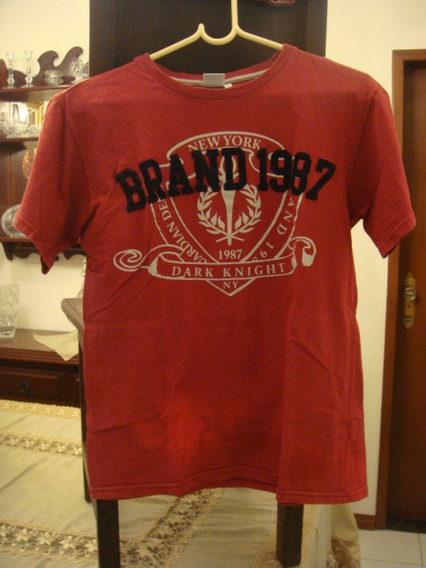 Camisa Blusa Camiseta Vinho Tam. 16 Anos Infantil