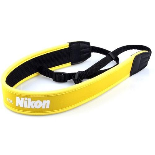 Nikon Strap Neoprene Alça De Pescoço_resistente E Macio