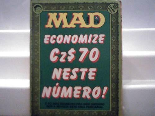 Revista Mad Nº 49 Economize /editora Record /janeiro De 1989