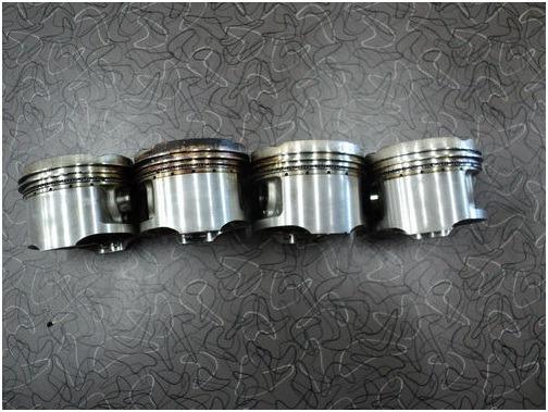 Honda Cbx 750 Sete Galo Pistoes Com Anéis