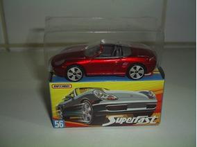 Matchbox Superfast Porsche Boxter Red