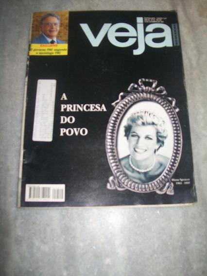 Veja Nº 1512 - Princesa Diana, Vera Fischer, Muhammad Ali