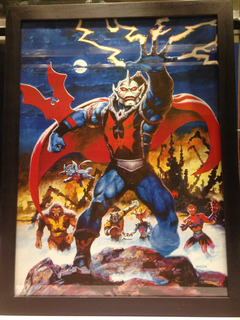 Masters Of The Universe Earl Norem Hordak Poster Heman