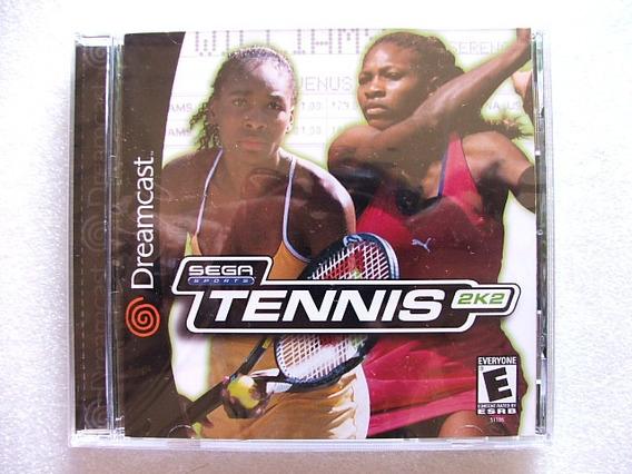 Tennis 2k2 Dreamcast Original Americano N O V O!! Lacrado!!