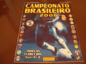 Álbum Campeonato Brasileiro 2006 - Completo Original Panini