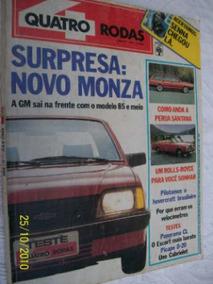 Revista Quatro 4 Rodas Nº 298 Maio 1985 Ótimo Estado!!!