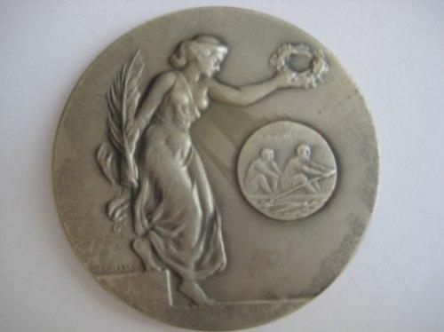 Medalha Esportiva 1ª Regata Oficial Barra Bonita 1974