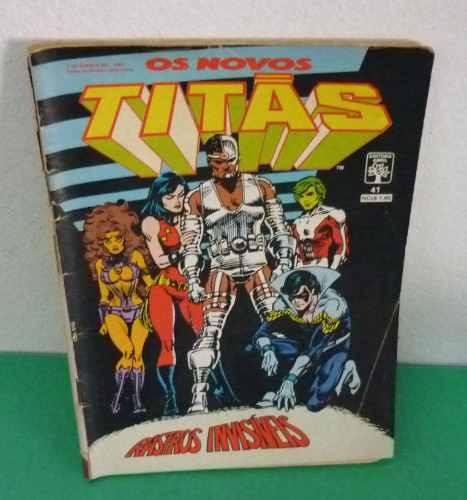 Os Novos Titãs Nº 41 Agosto De 1989 Editora Abril .