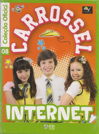 Livro Carrossel Internet Volume 08 Novela Sbt - Capa Dura