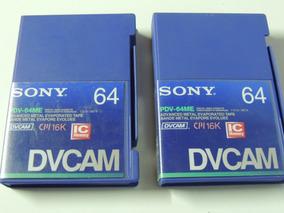 Fita Cassete Sony Dvcam Cm16k Pdv-64me