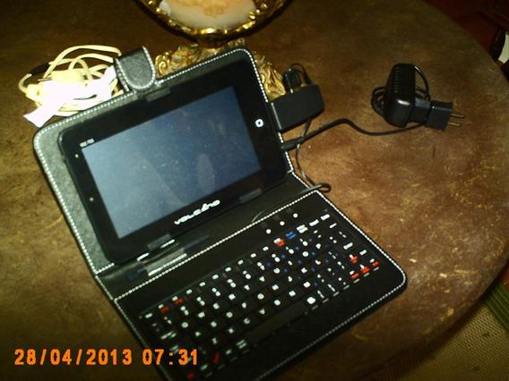Tablet Com Teclado - Capa Wi-fi -ethernet Tem Riscos Na Tela
