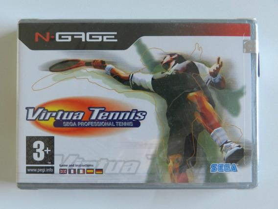 Jogo Para N-gage - Virtua Tennis - Item De Colecionador