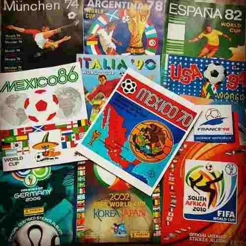 Álbums De Los Mundiales Panini Solo Coleccion Completa
