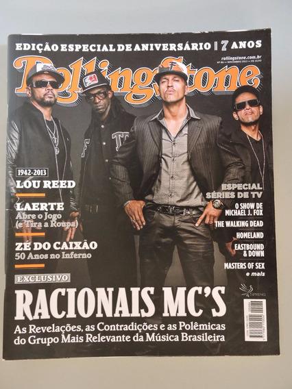 Revista Rolling Stone 86-ozzy,bob Dylan,racionais,paul Mccar