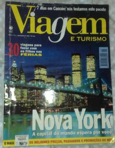 Revista Viagem E Turismo Ano 1 Nº 1 - 1995 - Editora Azul