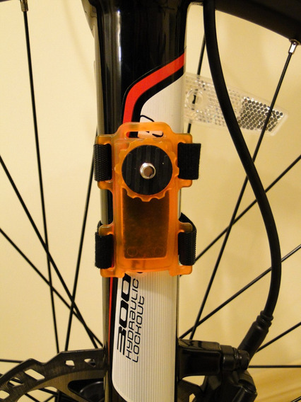 Suporte Camera Filmadora P/ Guidon Moto Bike Bicicleta