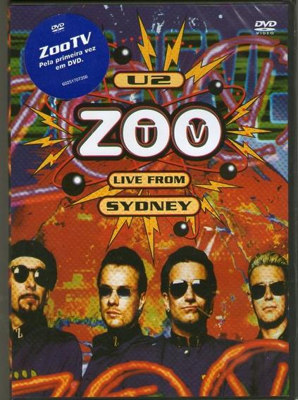Dvd U2 - Zoo Tv - From Sydney - Novo***