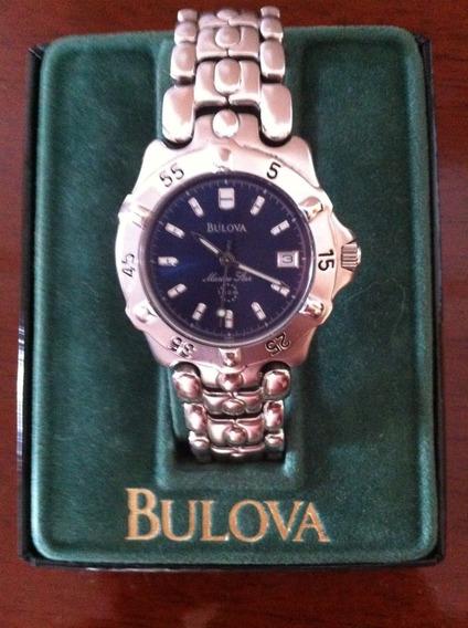 Relógio Bulova Marine Star 96b07 Seminovo