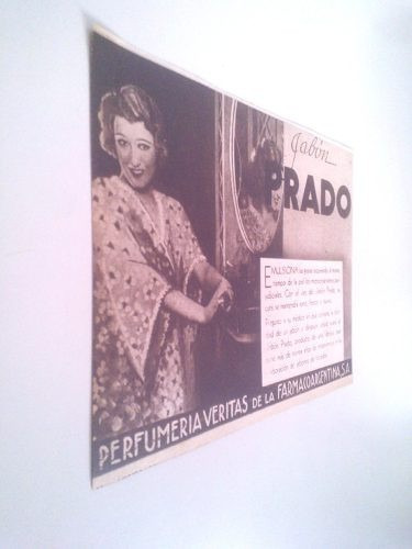 Antigua Publicidad Jabon Prado - Mujeres 1930s
