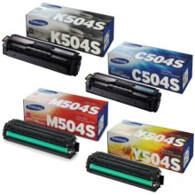 Americano  Magenta Toner Samsung 504 M504s Clp-415 Clx-4195