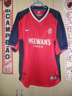 Camisa Glasgow Rangers ( Nike / Made In Reino Unido)