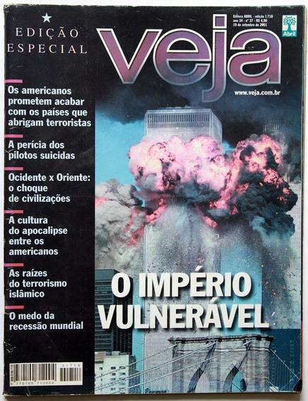 Veja Coleção Guerra Ao Terror (os Ataques De 11 De Setembro)