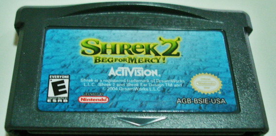Jogo Gameboy Sherek2 - Beg For Mercy!