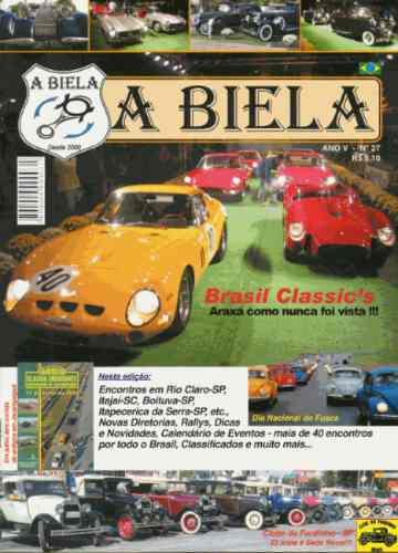 A Biela Nº27 Revista De Carros Antigos