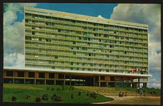 Cartão Postal Antigo Brasilia Df Hotel Nacional 1965