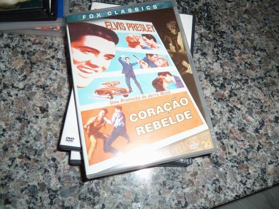 Dvd Elvis Presley Coração Rebelde - Est G