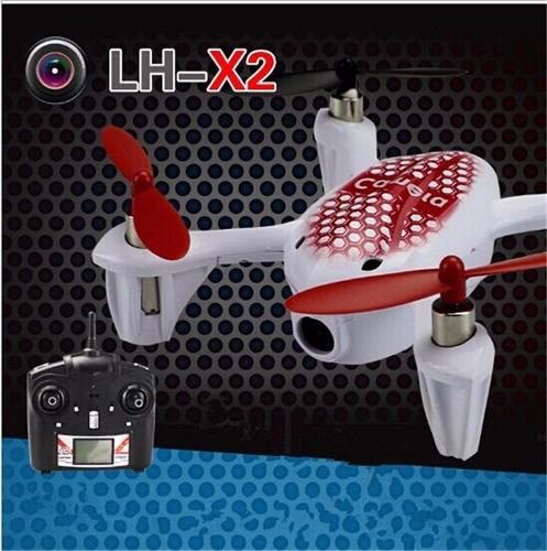 Quadricoptero Lh-x2 2.4ghz 6-axis 4d Gyro Câmera Led Drone
