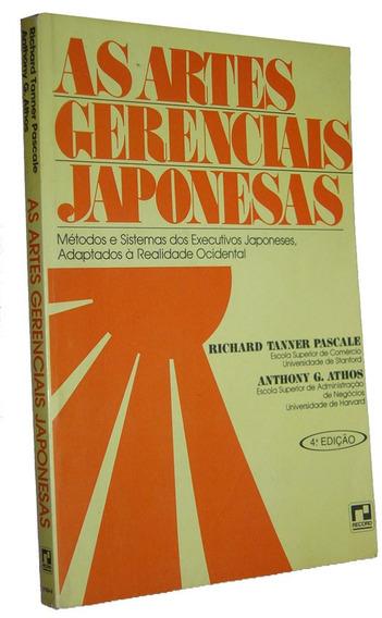 As Artes Gerenciais Japonesas Richard Tan. Pascale Livro /
