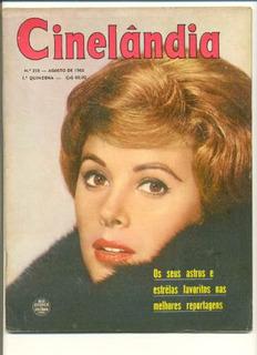*sll* Revista Cinelândia N. 258 Ano, 1963 Astros E Estrelas