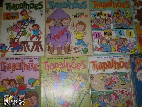 Trapalhões Revista Em Quadrinhos Nº 09 - Formatinho 1988