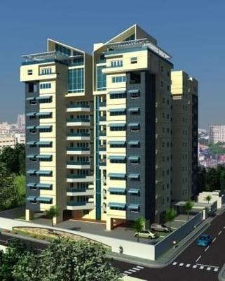 Apartamento Amueblado 2habs. Gym. Torre De Lujo Esperilla