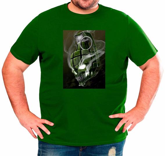 Estampado Digital Remera Algodon Personalizada Hombre 3x- 6x