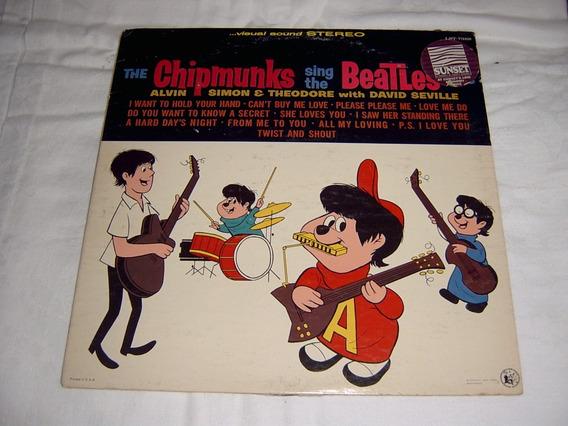 Lp The Chipmunks Sing The Beatles Hits 1964 Alvin Esquilos