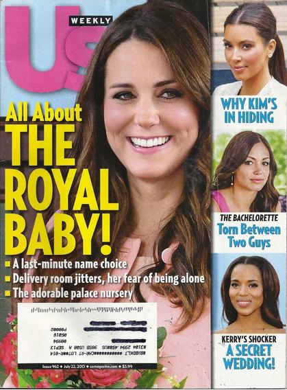 Us: Kate Middleton / Stephen King / Ryan Guzman / Roselyn
