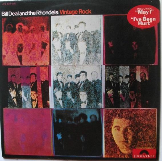 Lp Bill Deal And The Rhondels-vintage Rock-1969-raro.