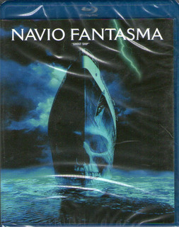 Blu-ray Navio Fantasma - Novo***