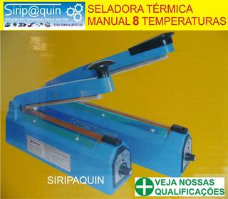 Seladora Termica Para Plasticos 40cm 8 Temperaturas 110v