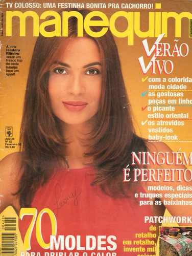 Manequim 1995 - Capa: Isadora Ribeiro