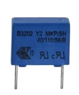 Capacitor Poliester 3.3 Nf X 300v Epcos 100 Unidades