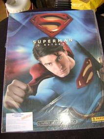 Album Super Homem , Vazio , Sem Figurinhas .