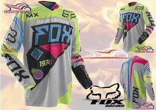Polo Jersey Fox 360 Intake T-shirt Motocross Ktm Honda @tv