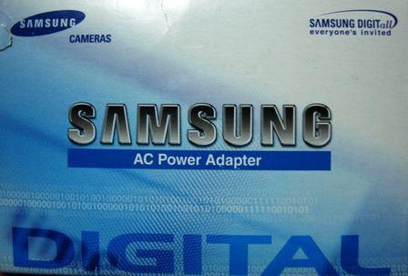 Samsung Ac Power Adapter Fonte Elimin Digimax 101 201 240